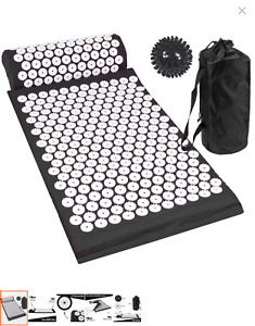 Acupressure Mat, Pillow And Ball Set With An Impressive 8000 Pressure Points