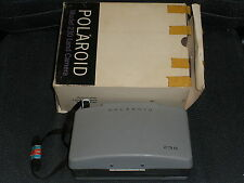 Polaroid Model 230 Land Camera with box, manual, cold clip #193 untested