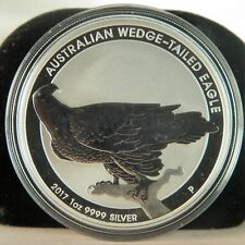 2017 1 oz .9999 Fine Silver Australian Wedge Tailed Eagle Coin