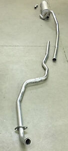 1965 FORD FALCON WAGON 6 CYLINDER EXHAUST SYSTEM, ALUMINIZED