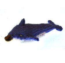 Dolphin - Handmade Finger Puppet from Peru