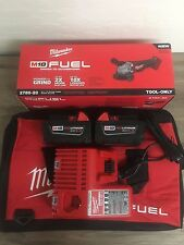 """M18 FUEL 4-1/2""""/5"""" Grinder Milwaukee 2780-22 KIT W/ BAG AND 5.0AH'S AND CHARGER"""