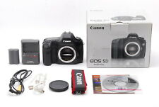 Excellent+++++ Canon EOS 5D 12.8 MP Digital SLR Camera Body From Japan
