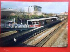 PHOTO  LANCASHIRE SALFORD CRESCENT RAILWAY STATION 1999