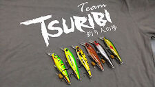 Tsuribi Feroz Striker Perch Toman Fishing Lure Peacock Bass Temensis 90mm 13g
