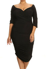 new ruched plus size dress size 16-18-20