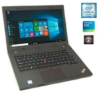 Lenovo ThinkPad L470 Core i5-7300u 16GB 256GB SSD FullHD IPS Fingerprint UK A-