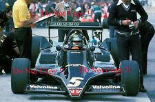 Mario Andretti JPS Lotus 79 British Grand Prix 1978 Photograph 3