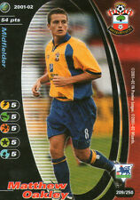FOOTBALL CHAMPIONS CARTE CARD - 2001/02 - Matthew Oakley