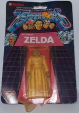 TERRAHAWKS : ZELDA CARDED ACTION FIGURE MADE IN 1983 BY BANDAI
