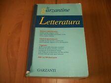 LE GARZANTINE-ENCICLOPEDIA DELLA LETTERATURA-GARZANTI-2003-DIZIONARIOAPPENDICI