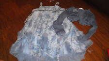 BOUTIQUE BISCOTTI GIRLS 5 BLUE FLORAL DRESS AND SHRUG GORGEOUS