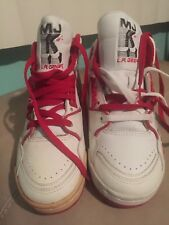 Michael Jackson MJ L.A. Gear Shoes Size 4 Red White Rare