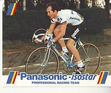 CYCLISME carte  cycliste BERNARD GAVILLET  équipe PANASONIC isostar 1988