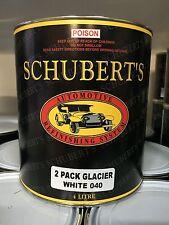 Schuberts 4LT Toyota 040 Glacier White 2K Pre-Mixed, Automotive Paint. Ratio 2:1