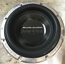 "New Old School Audiobahn AWIS10P 10"" Immortal Competition Subwoofer,Rare"