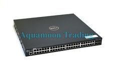 Force 10 S50N 48-Port Gigabit Ethernet Switch S50-01-GE-48T-AC-2 1U 1P0G6 FTOS
