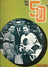 Montreal Canadiens - Oakland Seals 3.01.1970 NHL Official Program