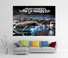 NEED FOR SPEED MOST WANTED XBOX PS3 WII U GIANT WALL ART PRINT POSTER H128