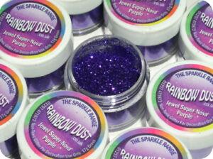 Rainbow Dust Sparkle Cake Non Toxic Glitter -Supernova Purple - Sugarcraft