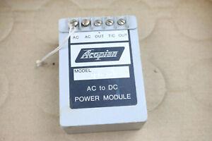 Acopian AC to DC Power Module Model DB15-10 Screw Lug Contacts Vintage USA
