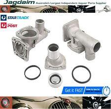 New Jaguar XJ XJ8 XK XK8 Aluminium Thermostat Housing Kit AJ82217KIT AJ82217