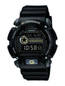 Casio G-Shock Military Men's Chronograph Black Resin 47mm Watch DW9052-1CCG