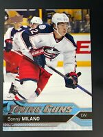 2016-17 Sonny Milano UD Young Guns Rookie
