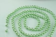 *140pcs Pearl Beads 6mm green Color Faux Imitation Plastic Round Pearl Spacer*