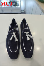 Men's Hugo Boss Suede Leather Loafers size 10