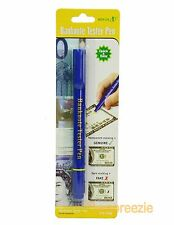 Counterfeit Pen Money Detector Bank Marker Fake Dollar Bills Currency Checker