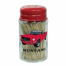 FORD MUSTANG OFFICIAL LICENSED PRODUCT GLASS TOOTHPICK HOLDER NIB