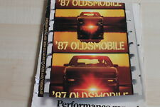 86454) Oldsmobile Toronado Cutlass Ciera GT Firenza - USA - Prospekt 08/1986