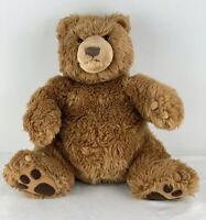 Gund Kohls Cares Brown Grizzly Teddy Bear W/ Claws Plush Stuffed Animal Sitting
