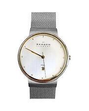 Polierte Unisex Armbanduhren aus Edelstahl mit 12-Stunden-Zifferblatt
