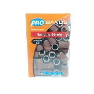 Medicool Pro Bands Acrylic/ Gel Sanding Band [Fine/Medium/Coarse] R/W *Pick Any*