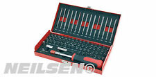75 Piece Security Driver Bit Set - star spline hex clutch torq pozi spline case