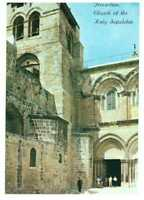 Jerusalem: The Church of the Holy Sepulchre, Israel, Palestine Rare Postcard 2