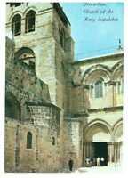 Jerusalem: The Church of the Holy Sepulchre, Israel, Palestine Rare Postcard 2