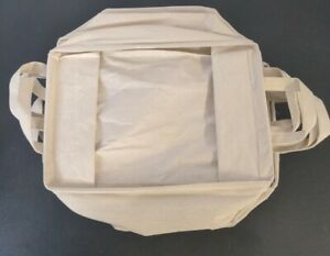 Collapsible Canvas Bin (6-Pack) 15in x 9in x 7in