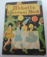 Abbotts Christmas Book Charlotte Stone Vintage Dairy Ice Cream Advertisement
