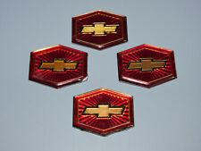 1981 - 1984 Chevelle Malibu Wheel Cover Medallions Lot of 4