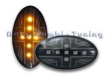 FRECCE LATERALI LEXUS LED NERE Union Jack MINI COOPER R50 R52 R53 TUNING