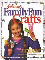Family Fun Crafts : 500 Creative Activities for You and Your Kids by Deanna...