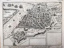 Baudartius Bor Dutch Revolt Rare Engraving Antwerpen Belgium (6)- 1621