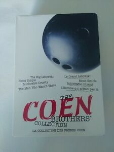 The Coen Brothers Collection - Four DVD Set - Blood Simple, Big Lebowski...