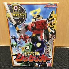 Bandai Power Rangers Shinkenger Dx Shinken-oh Megazord Samurai Without sword