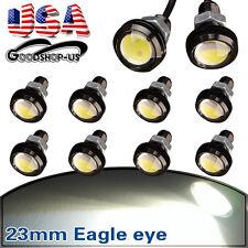 10PCS Eagle Eye 23mm Motor Car 9W White LED Daytime Running DRL Tail Backup Bulb