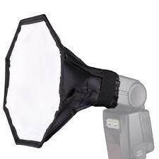 """20cm/8""""Octagon Photo Studio Strobe Flash Umbrella Softbox Diffuser Speedlight *s"""