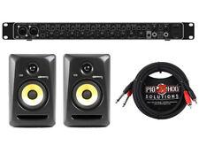 BEHRIGNER UMC1820 + KRK RP5G3 Studio Monitor Pair + Cables